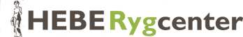 Hebe Rygcenter logo