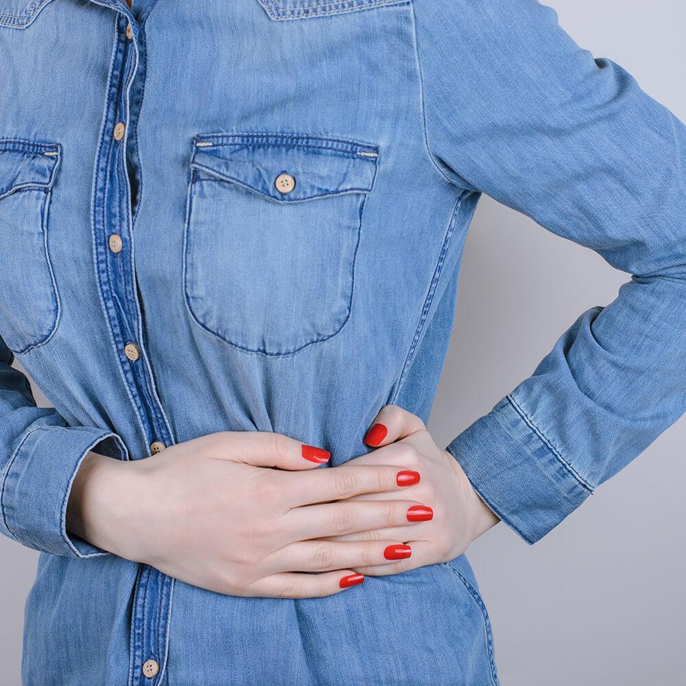 Symptom ribbens og brystsmerte