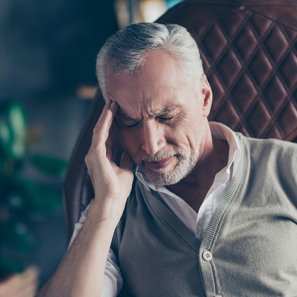 Symptom spændingshovedpine